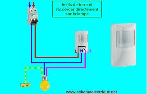 Le Led Detecteur De Mouvement 3712 by Schema Branchement Cablage D 233 Tecteur De Mouvement