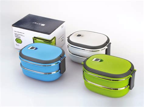 Stenlis Lunch Box Thermo Tunggal 2 layers stainless steel thermos bento lunchbox deals