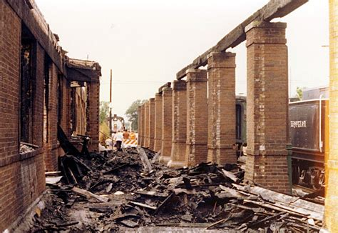 june 14 1977 illinois central depot on n market damaged