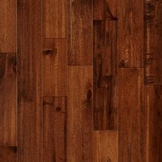 Chestnut Hickory Hand Scraped Solid Hardwood   3/4in. x