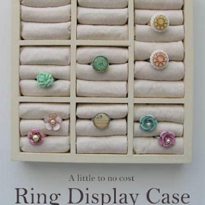 diy ring storage jewelry storage and display tip junkie
