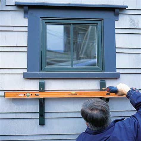 hanging window box how to hanging a window box popsugar home
