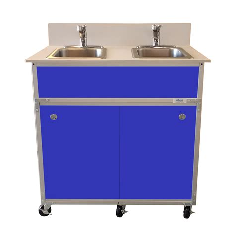 shoo bowl portable self contained sink 2 bowl washing self contained sink