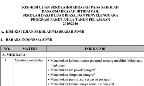 The King Us Sd Mi 2018 Bedah Kisi bedah kisi kisi ujian sekolah bahasa indonesia 2016 sd mi