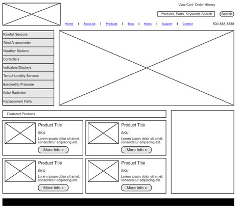 wireframe template wireframe exle