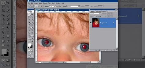 photoshop cs5 red eye tool tutorial how to remove red eye with the channel mixer in photoshop
