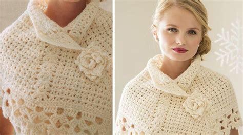 patrones de ruanas a crochet bellissimo poncho tejido a crochet con patrones
