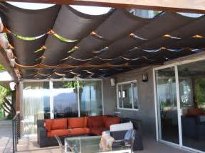 Sail Covers For Patios Slidewire Outdoor Roman Shades Modern Patio Los