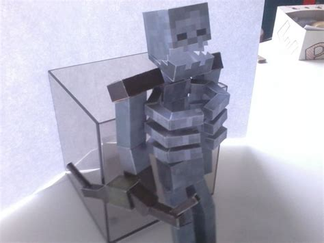 Skeleton Papercraft - minecraft papercraft mutant skeleton www pixshark