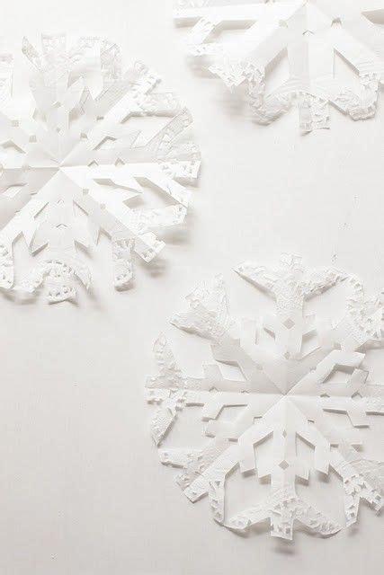 paper snowflake snowflakes make paper