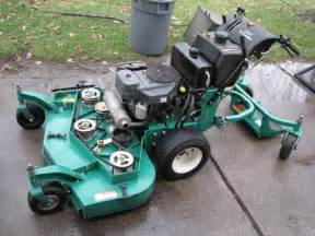 2007 lesco commercial plus 48 inch hydro walkbehind mower