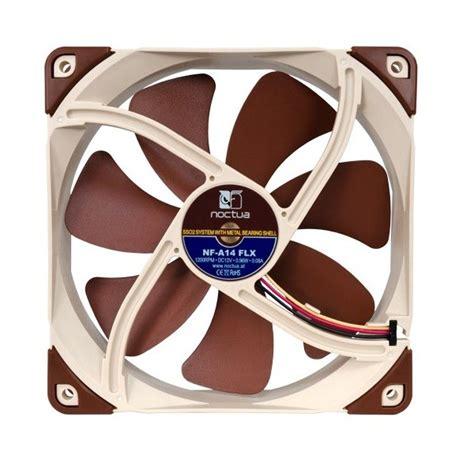noctua nf a14 flx 140mm case fan buy noctua 140mm nf a14 flx 1200rpm fan online australia