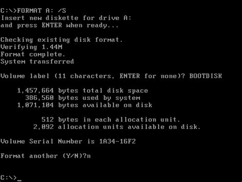 format hard disk in dos active partition recovery freeware dos bootable floppy