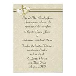 christian wedding invitation 5 quot x 7 quot invitation card zazzle