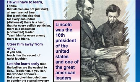 abraham lincoln letter to the my coolest quotes lincoln s letter to his s