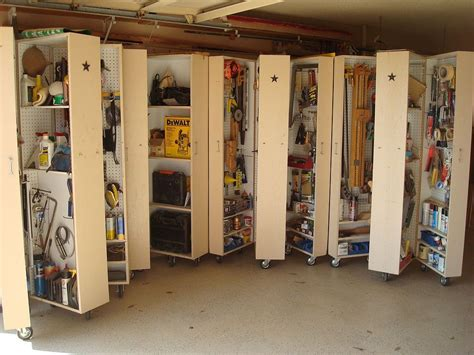 Garage Storage Diy Storage Solutions For A Well Organized Garage