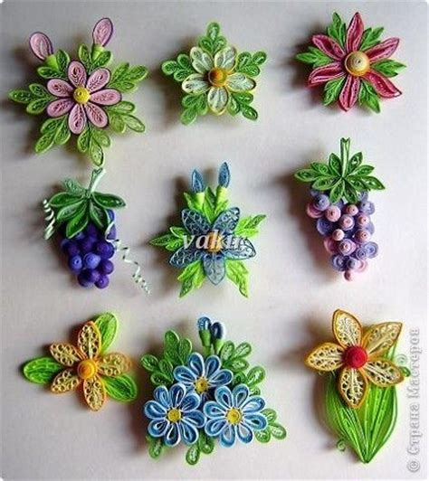 flower pattern for quilling quilling picmia