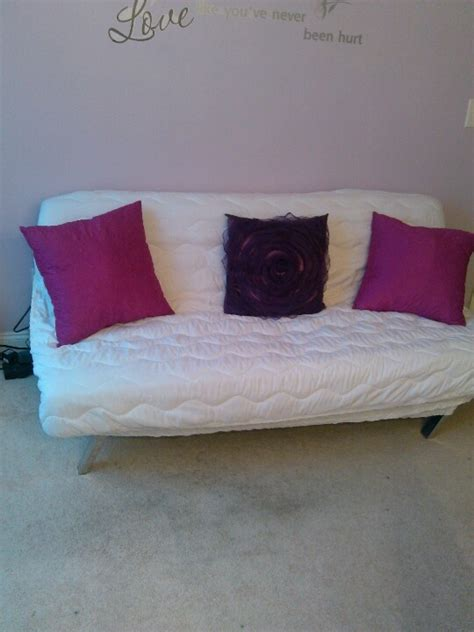 diy futon cover a mattress pad cover makes a great upholstery change to a