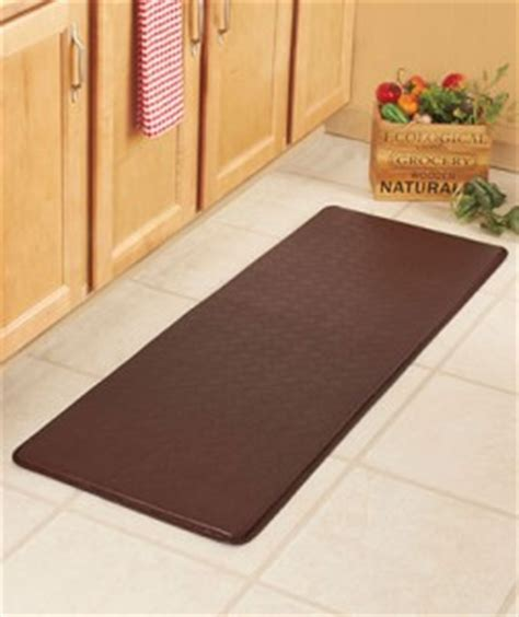 Kitchen Runner Mat Brown by New 54 Quot Brown Chef Comfort Runner Cushion Anti Fatigue