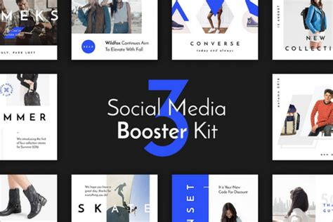 20 Social Media Kit Templates Free Premium Psd Designs Social Media Branding Templates
