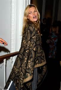 Unlike Kate Moss Is A Real Stylist by Kate Moss Steps Out In Wacky Fur Coat As She Heads To
