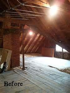 Small Bathroom Makeovers Ideas - bye bye bats finishing an old farmhouse attic hooked on houses