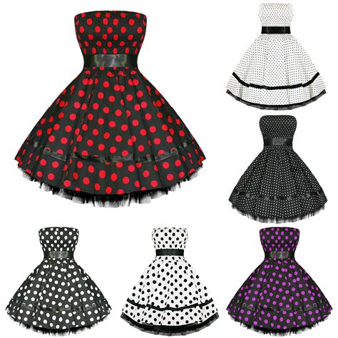retro swing dresses hearts and roses london new polka dot vintage 50s retro