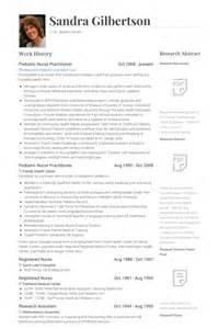 example resume example cv nurse practitioner
