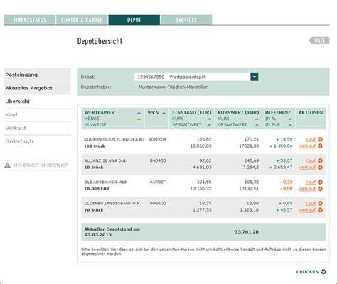 Olb Onlinebanking Leistungen Funktionen Im 220 Berblick
