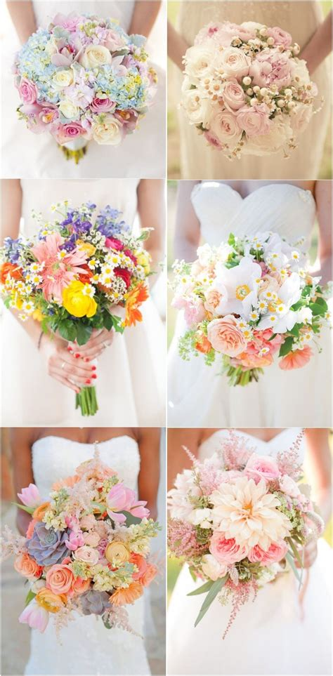wedding bouquet ideas 2017 2017 wedding color and ideas