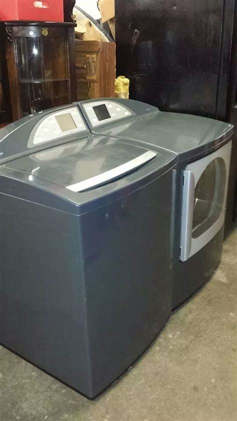 Like New GE Profile Harmony Washer and Gas Dryer Set(INDY