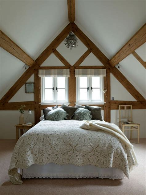 Sloped Ceiling Bedroom Decorating Ideas by 16 Most Fabulous Vaulted Ceiling Decorating Ideas