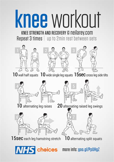 printable home exercise program for elderly gym free workouts live well nhs choices