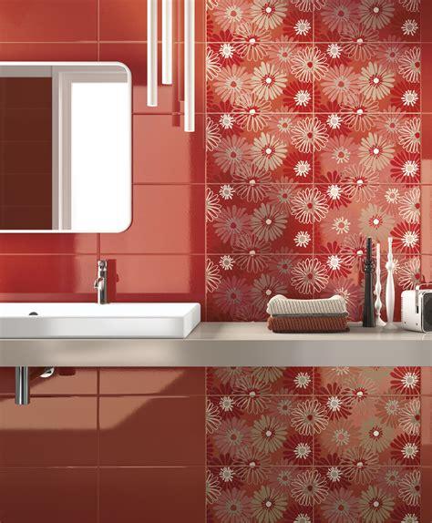 piastrelle bagno rosse piastrelle rosso scopri di pi 249 ragno