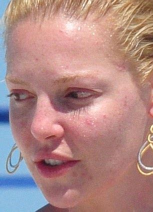 Makeup Lesson Katherine Heigls Look by As Bare Faced Has An Day We Expose The