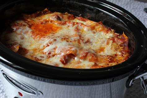 easy crockpot lasagna recipe dishmaps