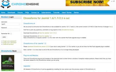 Tutorial Video Joomla | tutorial video su chronoforms di joomla installazione e