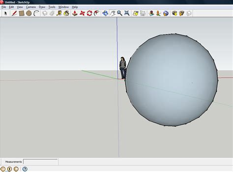 how to make a sphere in sketchup with pictures wikihow