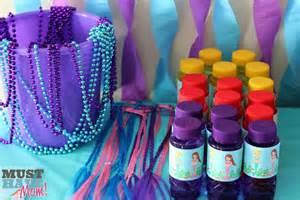 Mermaid birthday party ideas decor free mermaid printables amp party