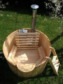 how to build a wood fired tub the cover