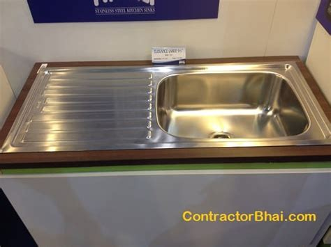 cost of kitchen sink sinks contractorbhai
