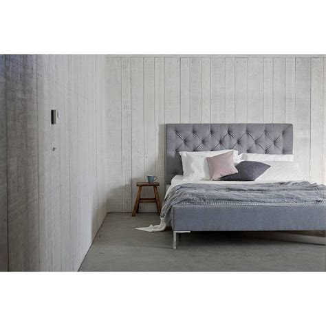 high fabric headboards issie buttoned modern upholstered bed by love your home