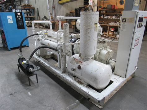 gardner denver hankinson eaqsoh pr700 150hp rotary compressor air dryer ebay