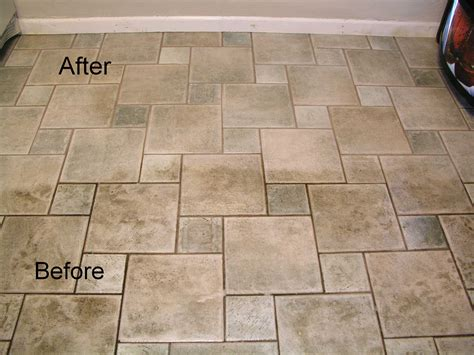 Cleaning Floor Tile by Tiles And Grout Cleaning Ibx Services
