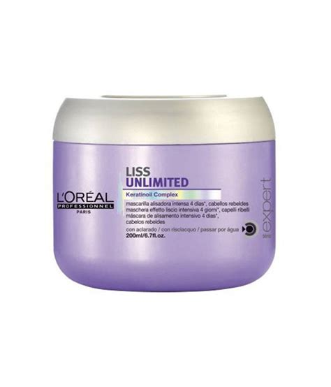 Masker Rambut Loreal Smooth l oreal serie expert liss unlimited masker