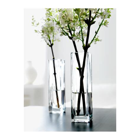 Real Simple Ideas For Simple Glass Vases By Rektangel Vase Clear Glass