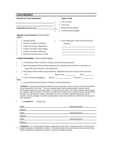 Credit Review Form Sle Bank Loan Application And Review Forms Hashdoc
