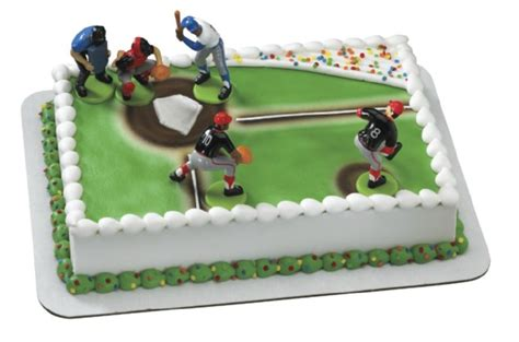 Baseball Cake Decorations by On And The Field Sports Team Supplies