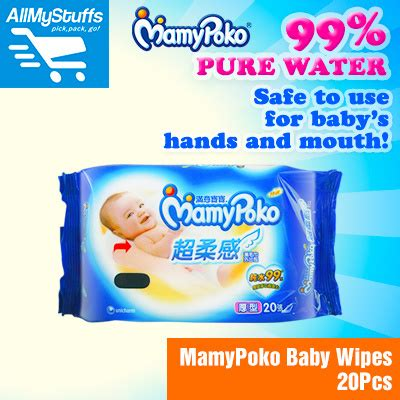 Pigeon And Wipes 20s 20 Sheet Baby qoo10 mamypoko baby wipes 20s handy and portable big pieces baby maternity