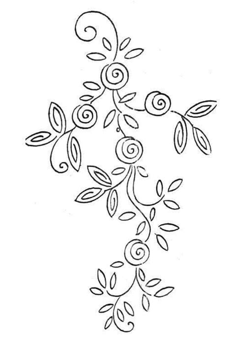 embroidery design templates simple quilling template for beginners несчетная вышивка